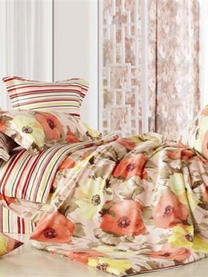 С-128 комплект постельного белья Сатин Valtery 2х спальный