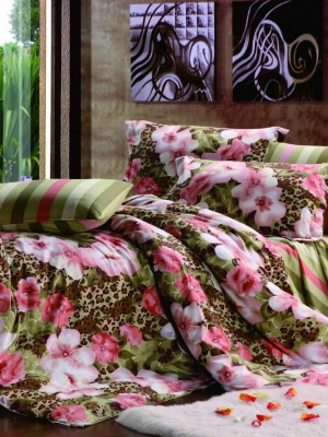 С-145 комплект постельного белья Сатин Valtery 1,5 спальный