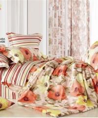 С-128 комплект постельного белья Сатин Valtery 1,5 спальный