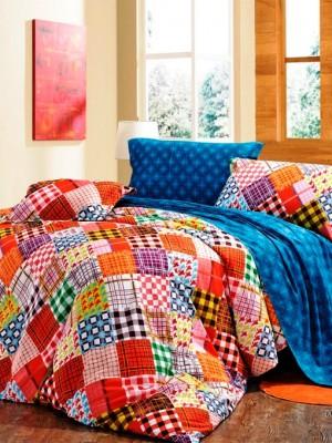 С-130 комплект постельного белья Сатин Valtery 2х спальный