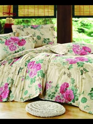 С-146 комплект постельного белья Сатин Valtery 1,5 спальный