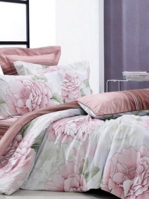 С-38 комплект постельного белья Сатин Valtery 1,5 спальный