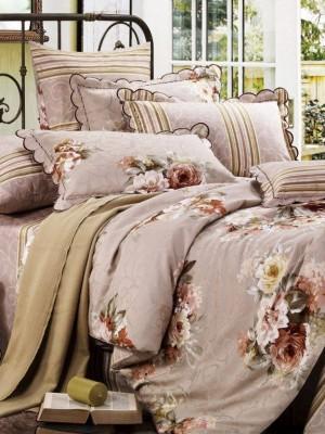 С-112 комплект постельного белья Сатин Valtery 1,5 спальный