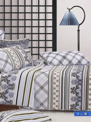 С-58 комплект постельного белья Сатин Valtery 1,5 спальный