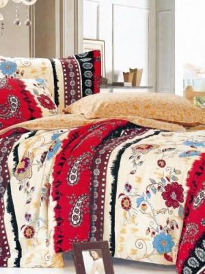 С-208 комплект постельного белья Сатин Valtery 2х спальный