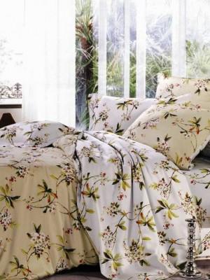С-113 комплект постельного белья Сатин Valtery 1,5 спальный