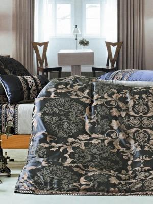 220-95 комплект постельного белья тканный жаккард с вышивкой Valtery Семейный