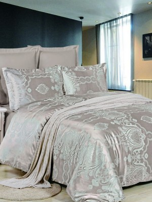 JC-44 комплект постельного белья Сатин-жаккард Valtery 1,5 спальный