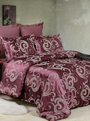 JC-40 комплект постельного белья Сатин-жаккард Valtery 1,5 спальный