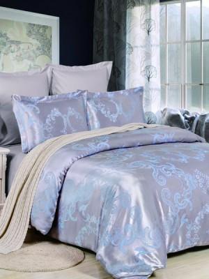 JC-41 комплект постельного белья Сатин-жаккард Valtery 1,5 спальный