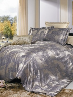 JC-01 комплект постельного белья Сатин-жаккард Valtery 1,5 спальный