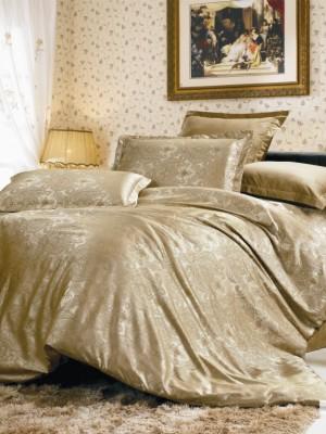 JC-09 комплект постельного белья Сатин-жаккард Valtery 1,5 спальный