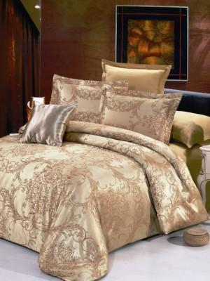 JC-21 комплект постельного белья Сатин-жаккард Valtery 1,5 спальный