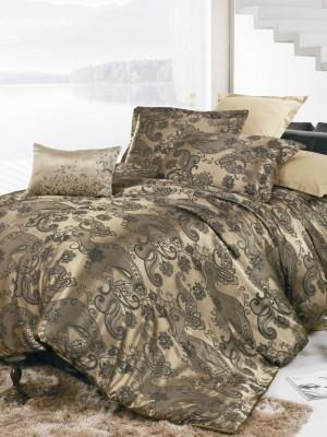 JC-12 комплект постельного белья Сатин-жаккард Valtery 1,5 спальный