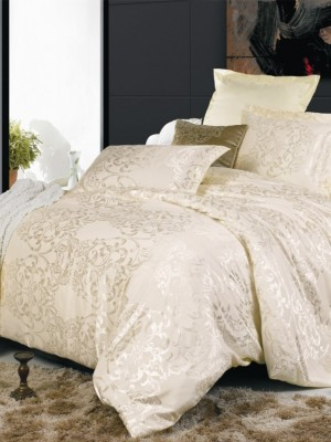 JC-04 комплект постельного белья Сатин-жаккард Valtery 1,5 спальный