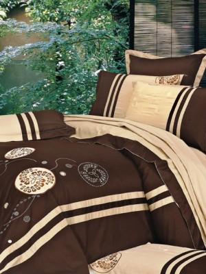 100-49 комплект постельного белья Сатин с вышивкой Valtery 2х спальный