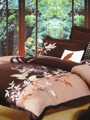 100-03 комплект постельного белья Сатин с вышивкой Valtery