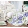 110-65 комплект постельного белья Сатин с вышивкой с отделкой габеленом Valtery 2х спальный