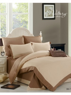 BS-07 Комплект постельного белья из бамбука Valtery 1,5 спальный