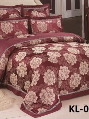Комплект постельного белья Жаккард (Евро) KL6-060