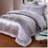 Комплект постельного белья Сатин-жаккард (размер Евро) KL-025