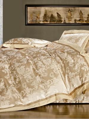 Комплект постельного белья Сатин-жаккард (размер Евро) KL-017