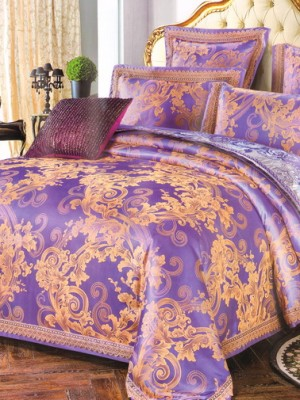 Комплект постельного белья сатин-жаккард TJ111-490