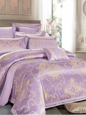 Комплект постельного белья сатин-жаккард Евро TJ112-436