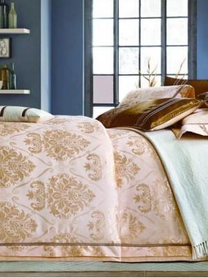 Комплект постельного белья сатин-жаккард Евро TJ111-437