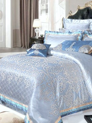 Комплект постельного белья сатин-жаккард Семейный TJ112-439
