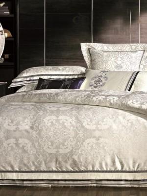 Комплект постельного белья сатин-жаккард Семейный TJ112-444