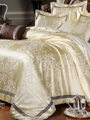 Комплект постельного белья сатин-жаккард Семейный TJ112-445