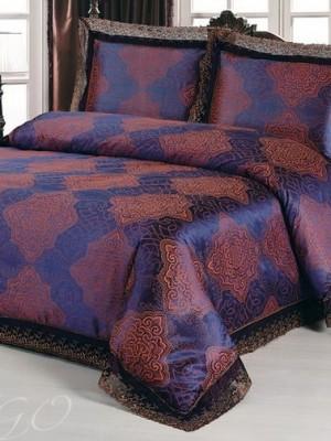 Комплект постельного белья сатин-жаккард Евро TJ0220-489