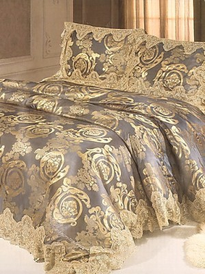 Комплект постельного белья сатин-жаккард  TJ600-021