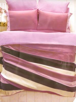 Постельное белье + Вязанное покрывало Juliet - CVZ033-3