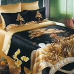 Декоративный шелк постельное бельё