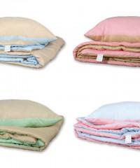 Набор одеяло и подушка лето 1,5 спальный