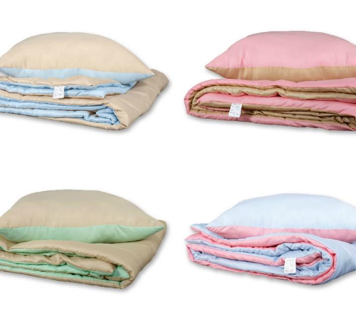 Набор одеяло и подушка лето 1,5 спальный Альвитек Летние одеяла