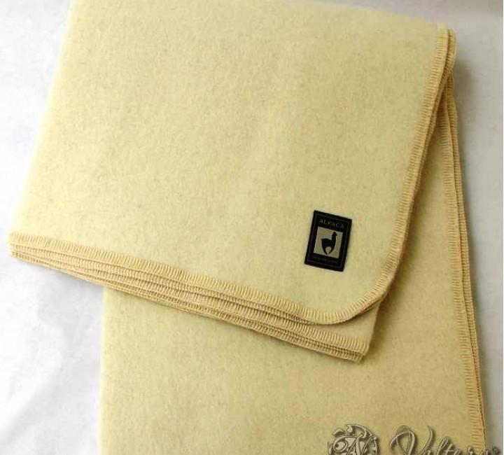 Одеяло INCALPACA (55% шерсть альпака, 45% шерсть мериноса) OA-2 Размер 145х205 Valtery Одеяла