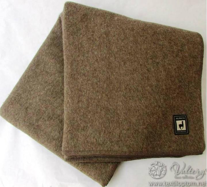 Одеяло INCALPACA (55% шерсть альпака, 45% шерсть мериноса) OA-3 Размер 145х205 Valtery Одеяла