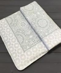 Дымчатый ( Кружево ) Байковое жаккард 215х150 100% х/б арт. 5772ВЖК Ермолино одеяло
