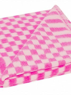 Розовое Байковое 100х140 арт. 57-3ЕТ 90% х/б Ермолино одеяло