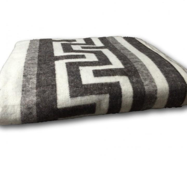 "Одеяло ""Греция"" 100% х/б 140х205 бел-кор Vladi байковое Альвитек Одеяла ""байковые"""