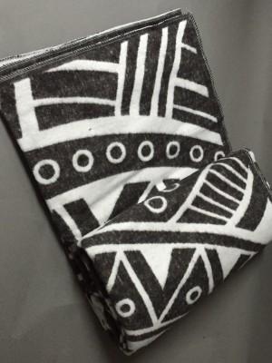 """Одеяло """"Перу"""" 100% х/б 140х205 бел-кор Vladi байковое"""
