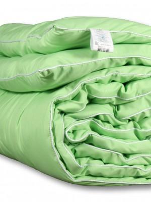 Одеяло бамбук микрофибра/полисатин всесезонное 140х205