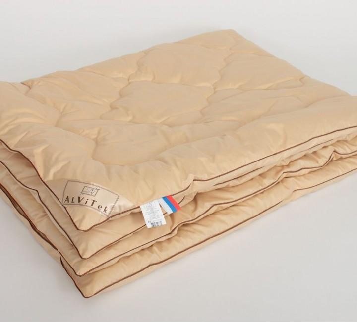 Одеяло «Гоби» Верблюжий пух Всесезонное 140х205 Альвитек Одеяла