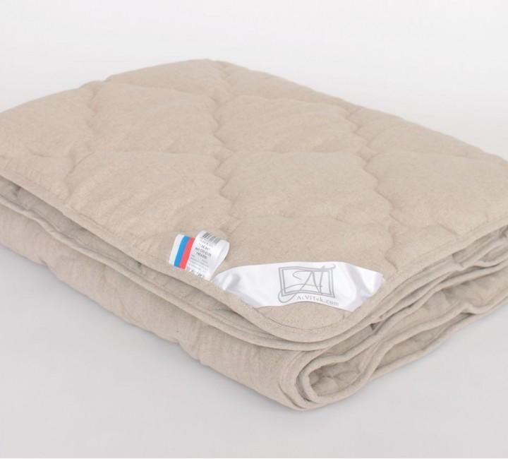 Одеяло Лён всесезонное 200х220 Альвитек Одеяла