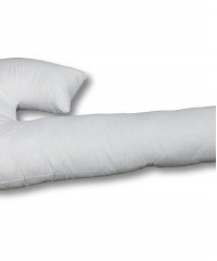 Подушка для беременных форма J бамбук