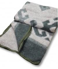 Одеяло-плед Карпаты 140х205 одеяло 72% шерсть Vlady