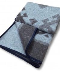 Одеяло-плед Карпаты 140х205 72% шерсть Vlady
